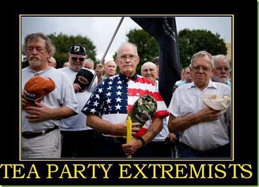 tea party extemists