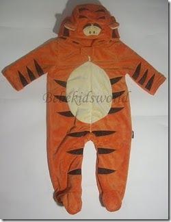 halloween para bebes disfraz tigre