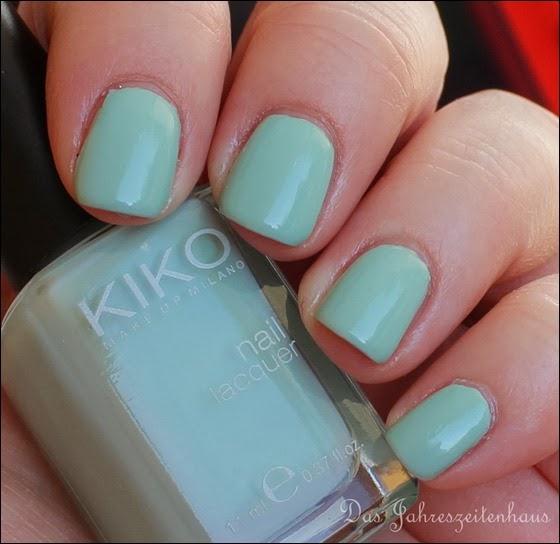 Mint KIKO 345 Jade Green