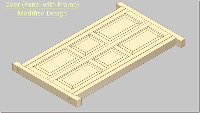 Door (Panel with Frame) Modified Design_1