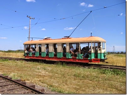 IMG_8143 New South Wales Government Tramways O-Class Tram #1187 at Antique Powerland in Brooks, Oregon on August 4, 2007