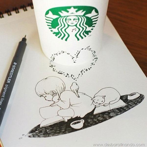 desenhando-copos-3D-starbucks-cups-3d-drawings-tomoko-shintani-desbaratinando (3)