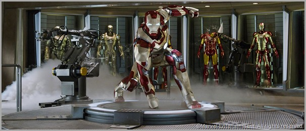 Iron Man suits up! CLICK to visit the official IRON MAN 3 site.