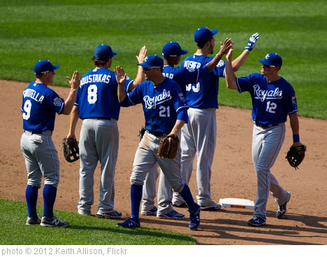 'Kansas City Royals' photo (c) 2012, Keith Allison - license: http://creativecommons.org/licenses/by-sa/2.0/