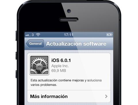 iOS-6.0.1 disponible