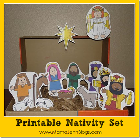 Printable Nativity Sets