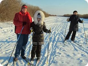 лыжи 031