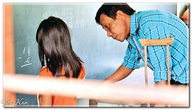 Ông thầy khuyết tật xóa mù chữ, Việt Nam