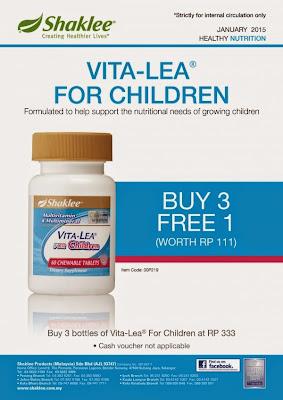Buy 3 Free 1 Vita-Lea
