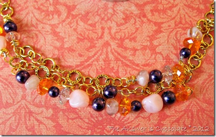 Rum Raisin Blue Moon Beads