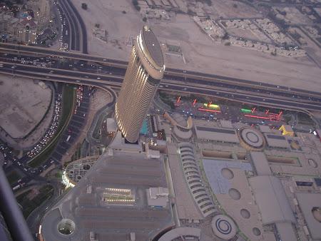 Imagini Dubai din turnul Khalifa