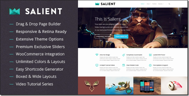 Top 5 Most Sold ThemeForest WordPress Themes Free Download.