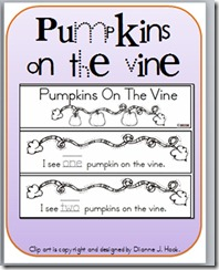 Pumpkins on the vine book pic