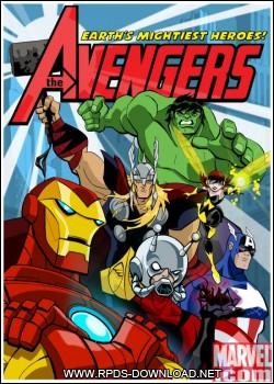 503c081e4fb00 Os Vingadores: Os Super Heróis Mais Poderosos da Terra Dublado AVI 1 Temporada Completa HDTV