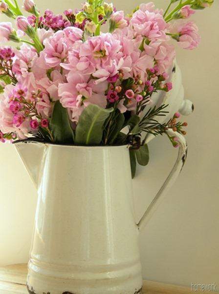 Spring Flowers on a budget via homework