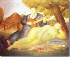 Concert in the Countryside - Fernando Botero (1971) WIKI
