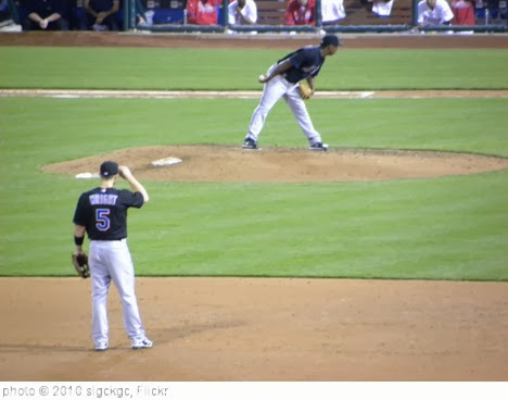 'David Wright with Jenrry Mejia Pitching' photo (c) 2010, slgckgc - license: http://creativecommons.org/licenses/by/2.0/