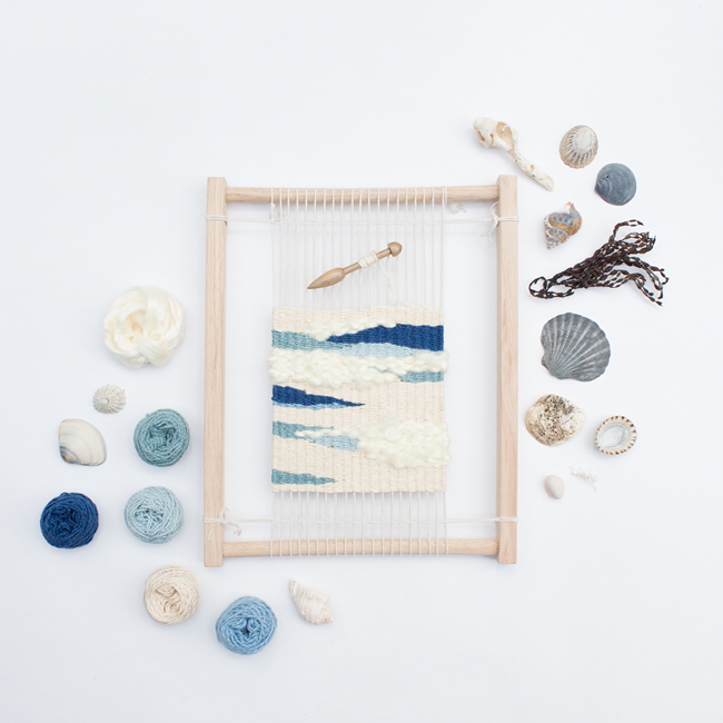 Eco Weaving Kit by Alchemy - Seaside Holiday