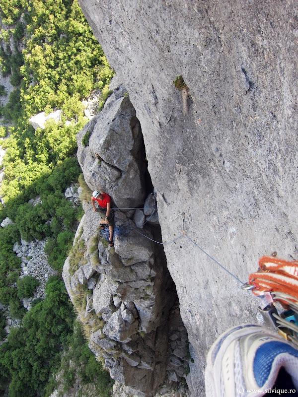 2013.07.18 - Aniča kuk - Incercare Rajna 7a+, 10lc, 350m