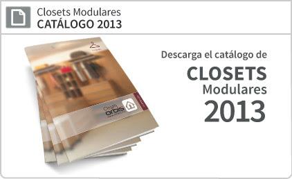 Closets Modulares Catálogo