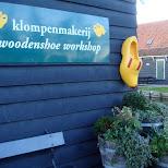klompenmakerij in Zaandam, Noord Holland, Netherlands