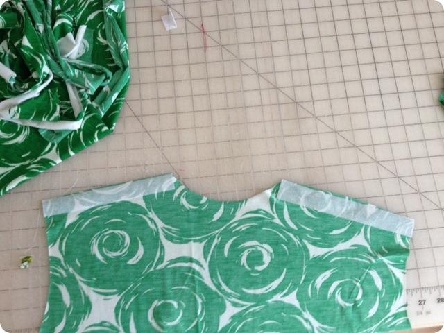 cap sleeve green top3