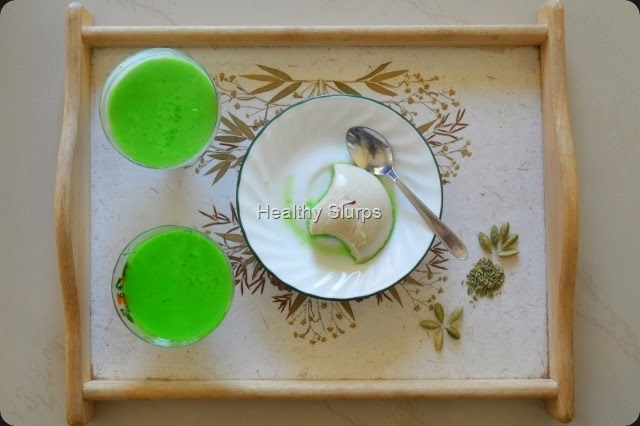 Happy Holi with Thandai Panna cotta