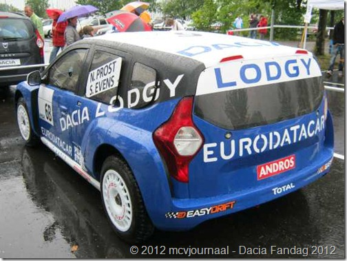 Dacia Fandag 2012 Onthulling Lodgy 33