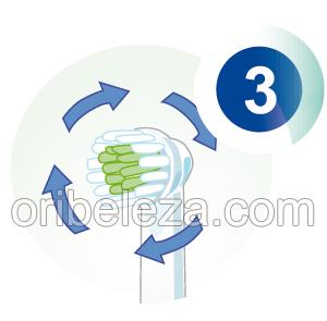 Escova de Dentes Elétrica da Oriflame