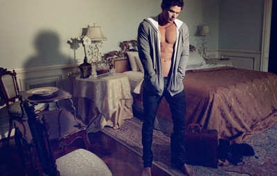 Kellan Lutz by Yu Tsai for Dylan George F/W 2011