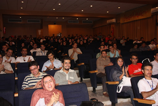 After my talk at Software Freedom Day in Esfahan.