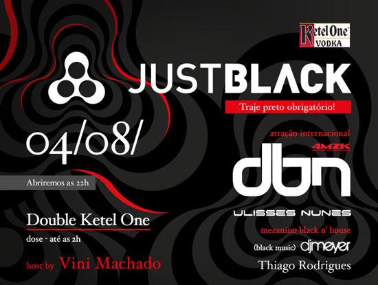 Festa Just Black na Anzu Club em Itu