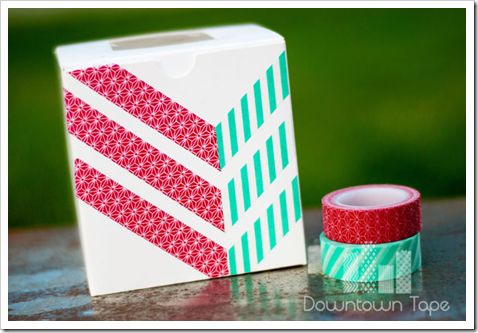 downtown tape washi chevron