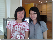 Two ladies - Lee Yin of KL, Chon Yong of Penang