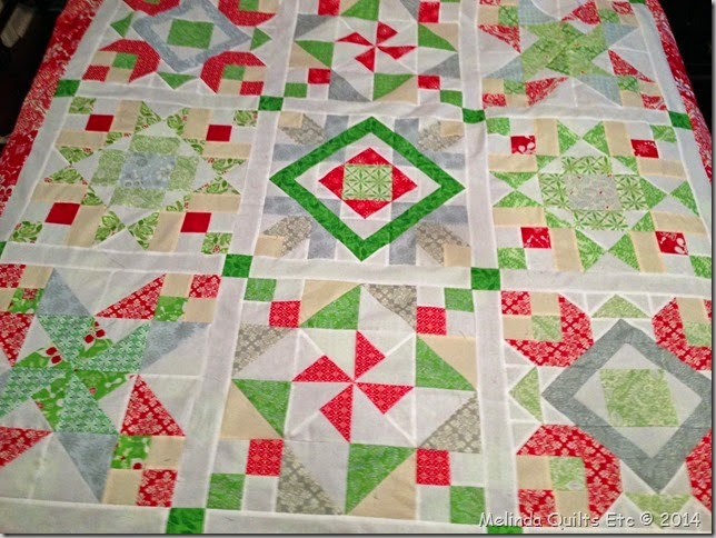 0714 Christmas Quilt