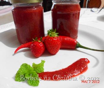 Pimenta Diet de Morango com Pimenta