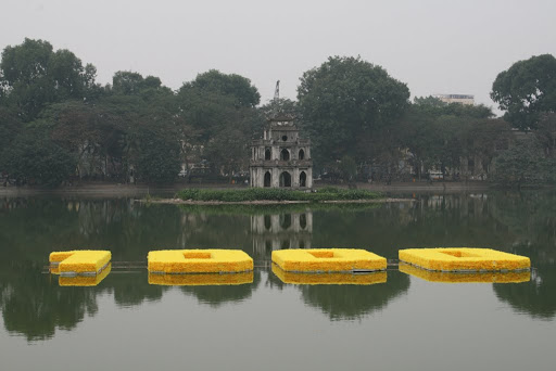 2010 represents 1000 years of Hanoi, and for this year has been named one of Frommer&#039;s Top World destinations 2010. That&#039;s Tortoise Tower in the background.
