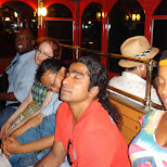 tired beyond believe at the end of the day at Tokyo DisneySea in Urayasu, Tiba (Chiba) , Japan