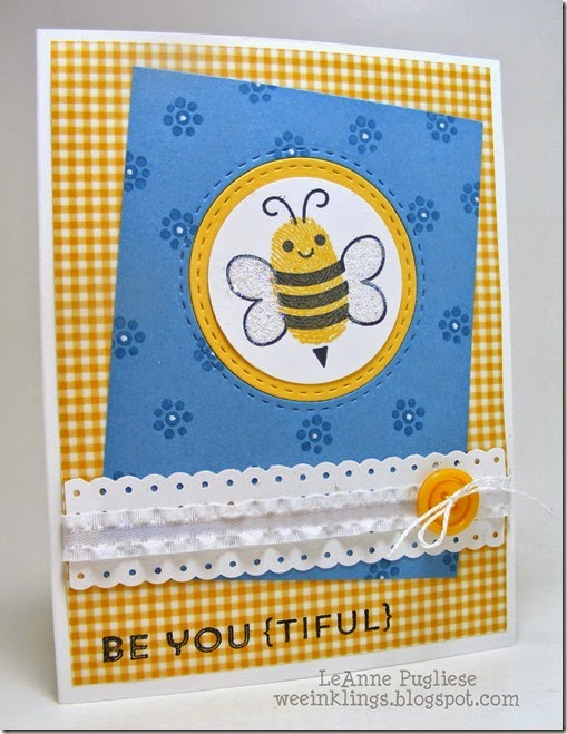 LeAnne Pugliese WeeInklings Clearly Besotted Bee Youtiful