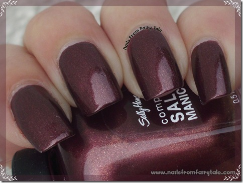 sally hansen haute chocolate 2