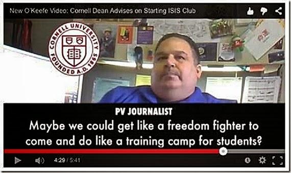 Joseph Scaffido musing ISIS Speaker at Cornell