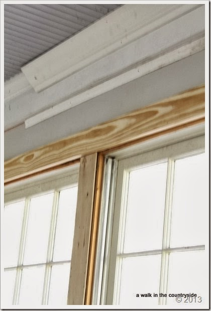 1/4 plywood between windows instead of sheetrock