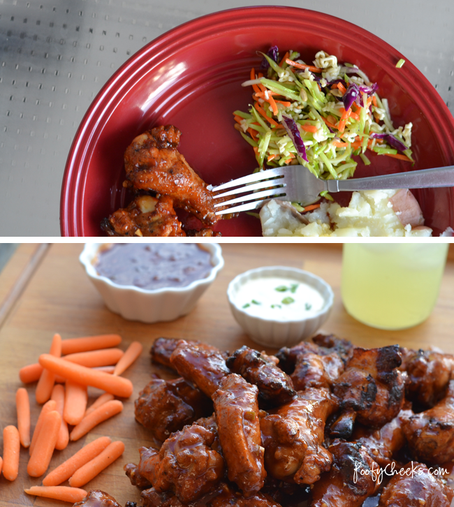 Grilled Wings with Homemade Hawaiian Wing Sauce