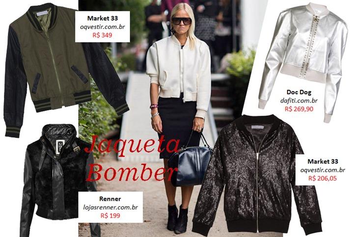 jaqueta couro aviador bomber feminina