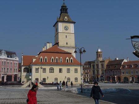 Historical cities in Romania: City Hall Brasov