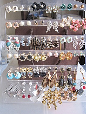 earrings collection, bitsandtreats