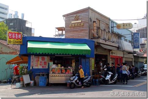 台南-「布萊嗯紅茶」與「阿婆魯麵」