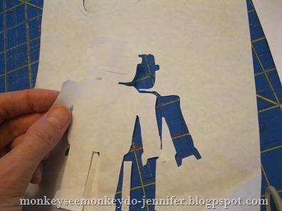 freezer paper robot stencil - Copy