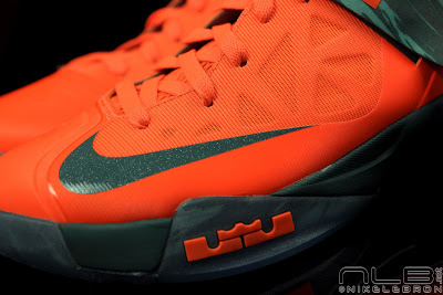 lebrons soldier6 orange camo 39 web black The Showcase: Nike Zoom Soldier VI Orange & Hasta Camo