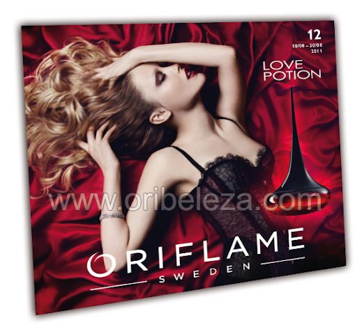 Catálogo 12 de 2011 da Oriflame